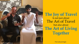 The Joy of Travel and the Art of Living Together