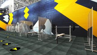 Essential Gym Shield Bench