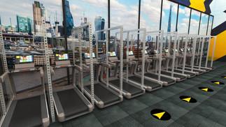 Gym Shield System cardio