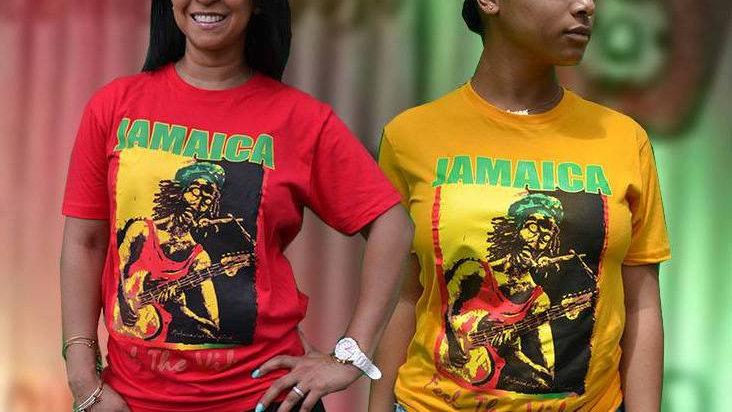 JAMAICA Feel The Vibes T-Shirt