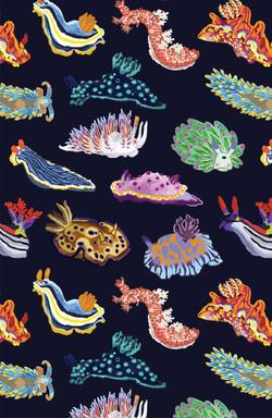 nudibranch pattern_phone