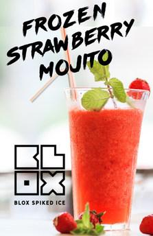 Frozen Strawberry Mojito