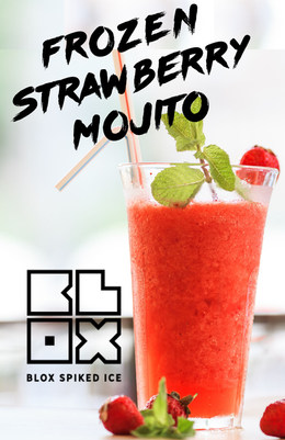 Frozen Strawberry Mojito