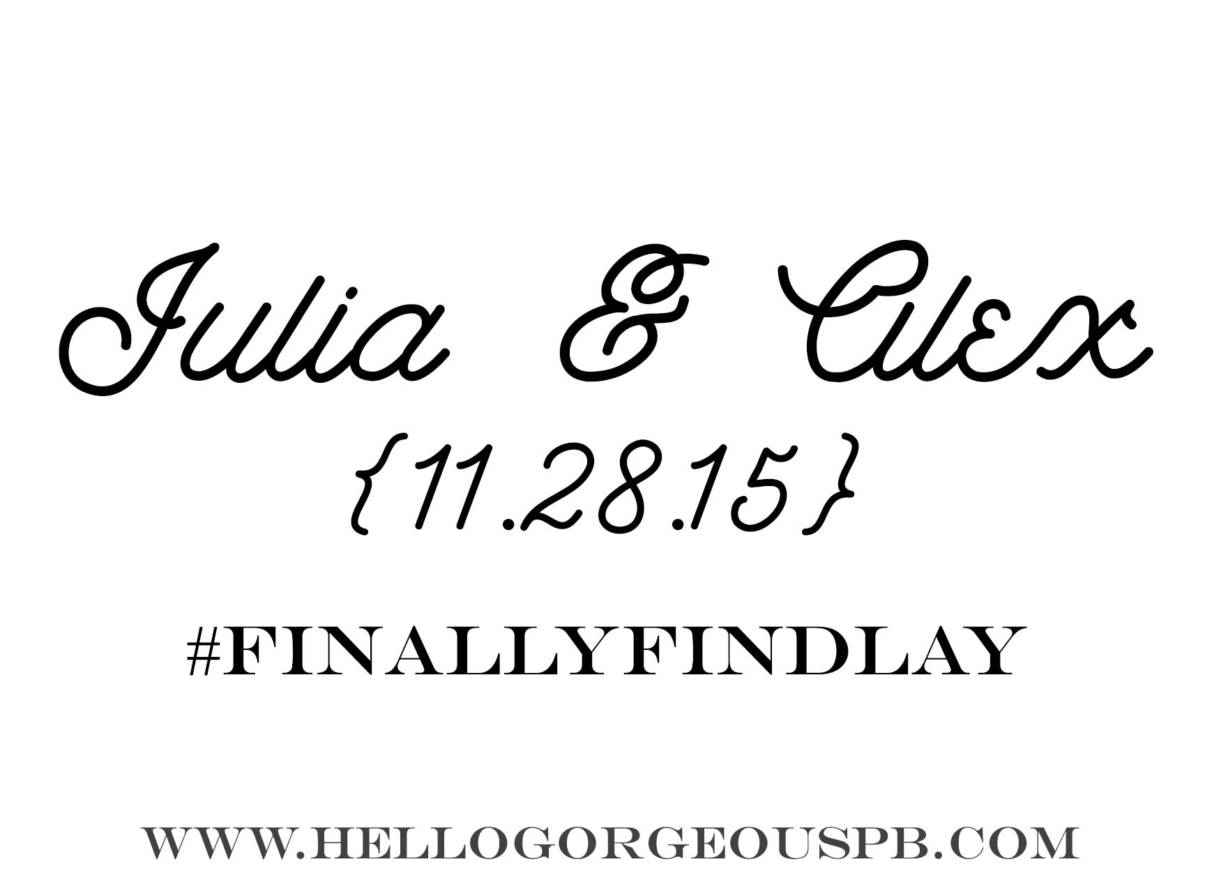 Julia & Alex