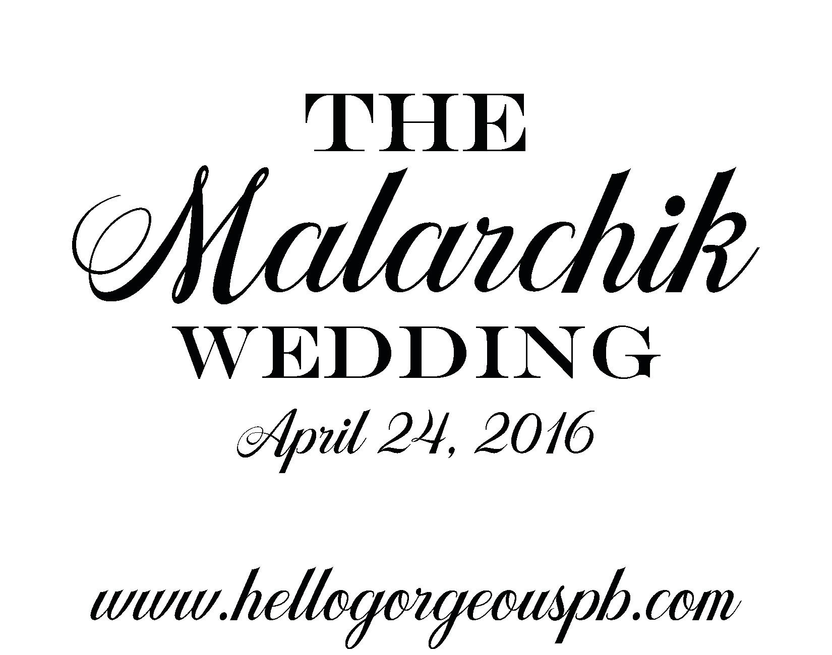 The Malarchik Wedding
