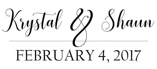 Krystal & Shaun's Wedding