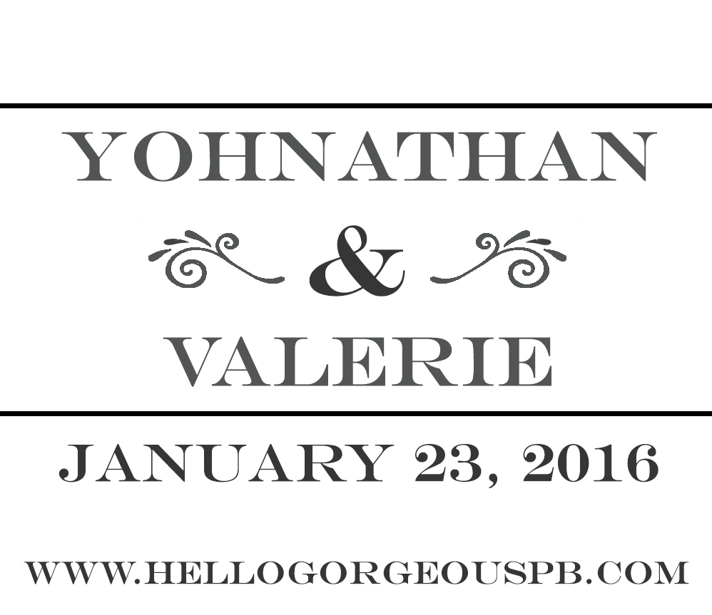 Valerie & Yohnathan's Wedding
