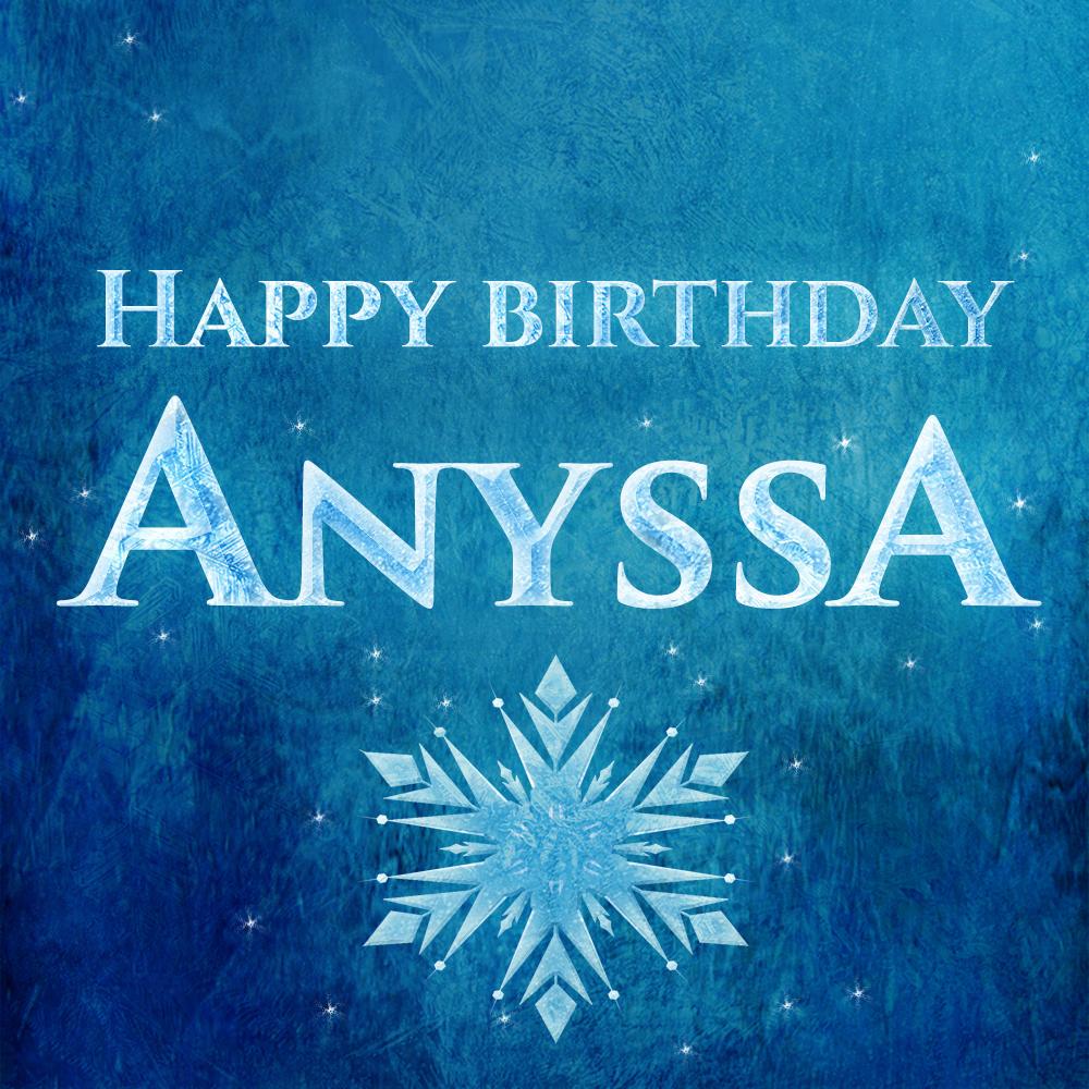 Anyssa's Birthday Party
