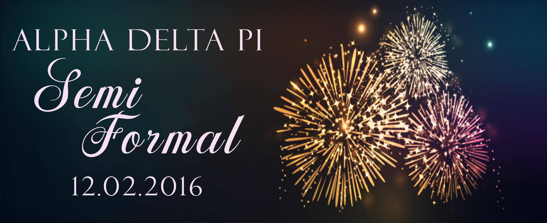 Alpha Delta Pi Semi Formal 2016