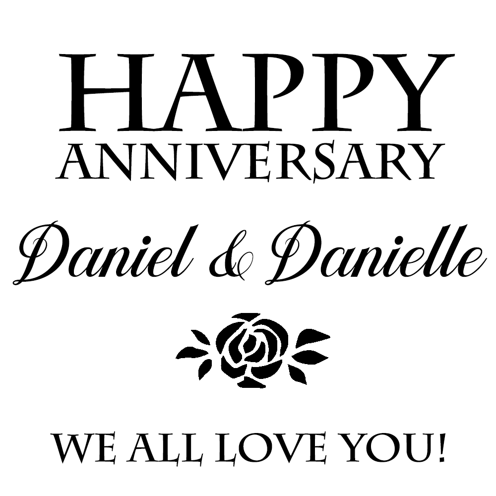 Daniel & Danielle's 5th Anniversary
