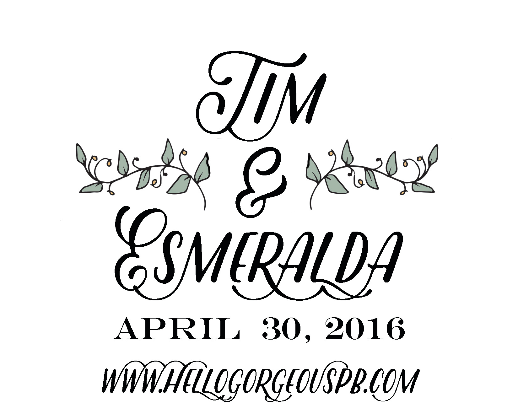 Tim & Esmeralda's Wedding