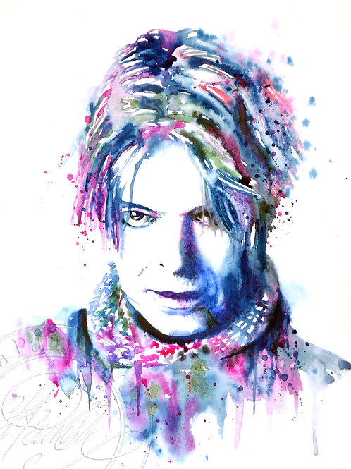 David Bowie - Study in Rose