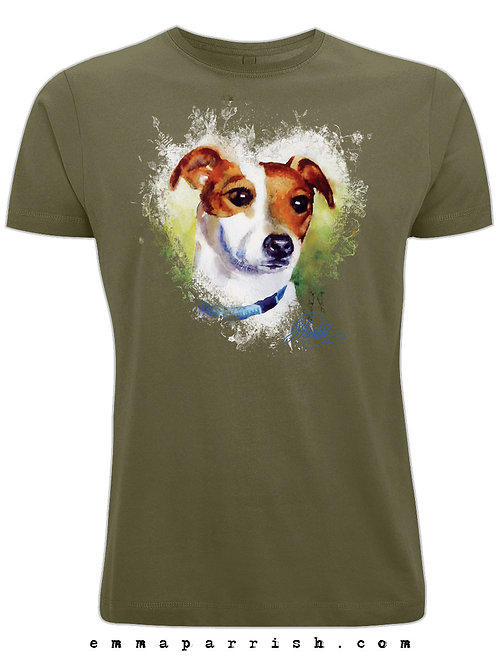 Organic Mens/ Unisex T Shirt - JRT by Emma Parrish