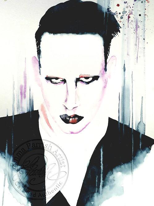 Marilyn Manson Study