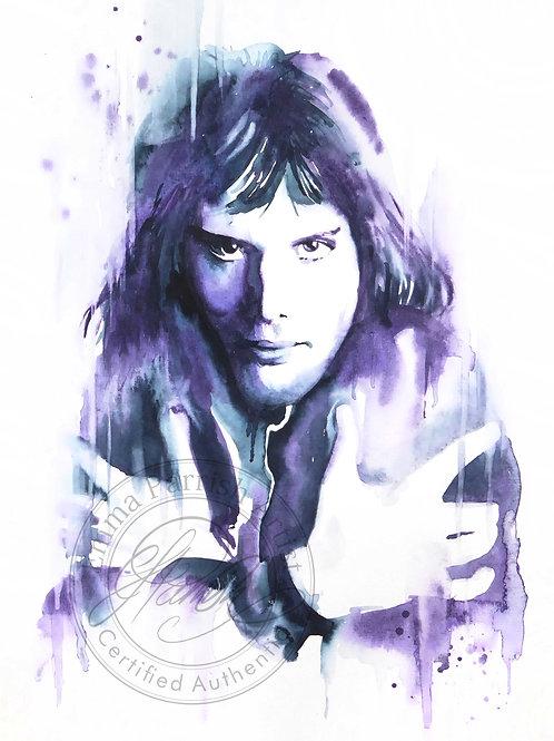 Freddie In Purples