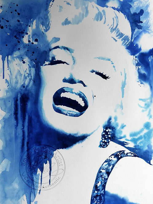 Marilyn Monroe in Blues
