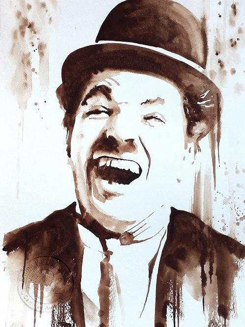 Chaplin Laughing
