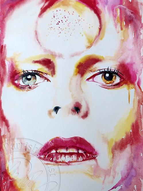 David Bowie - Ziggy in Red