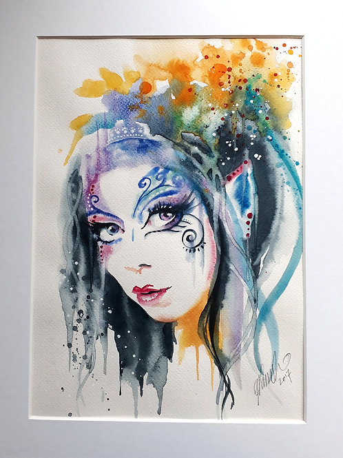 Born to Adorn - Original Watercolour