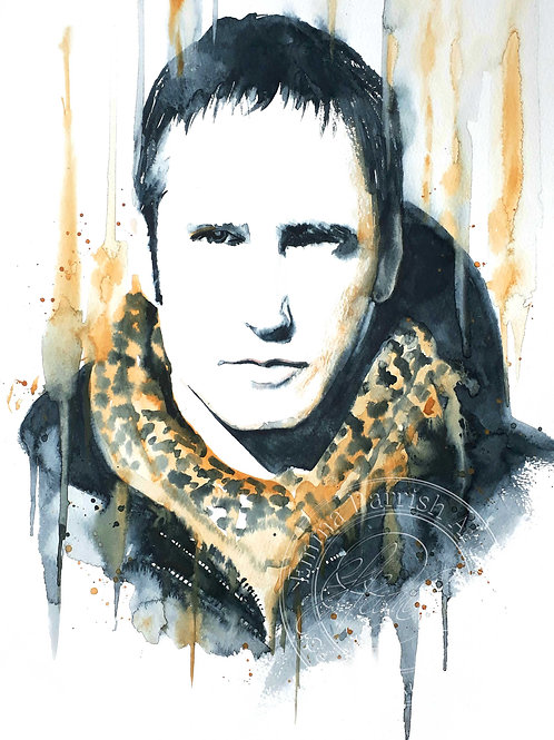 Trent Reznor Study - Nine Inch Nails