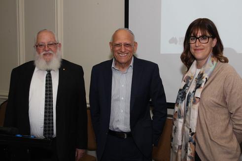 RCV hears from Professor Andrew Markus and Adina Bankier-Karp