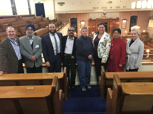 RCV Community Reference Group invites faith leaders to discuss vicarious truama