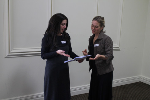 RCV Rebbetzins Undertake Presentation Skills Training