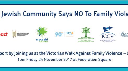 RCV says No to Family Violence