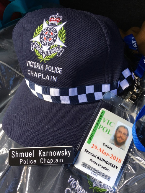 Victoria Police Appoints Jewish Chaplain