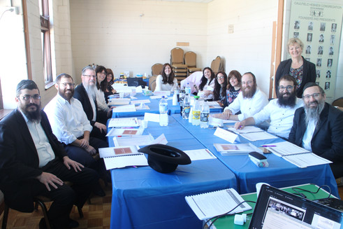 Rabbis and Rebbetzins partake in Marriage Preparation Training