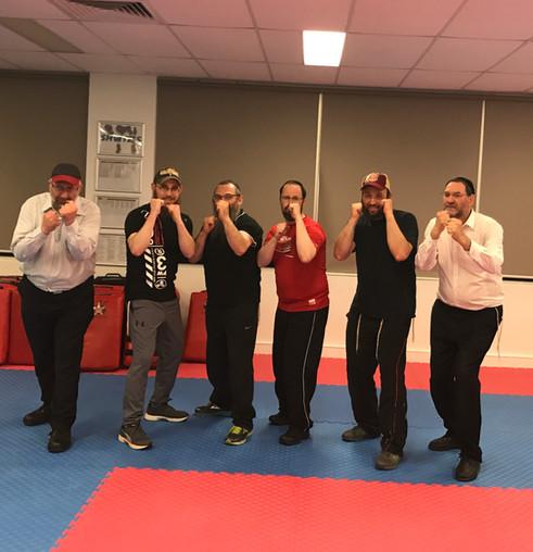 Rabbis undertake self defence training