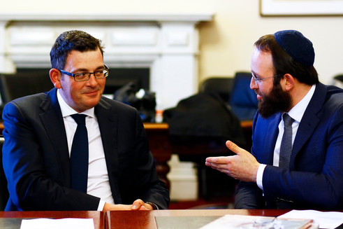Premier Andrews strengthens partnership with Rabbinical Leadership