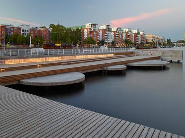 Fredriksdalskajen - Nivå Landskapsarkitektur