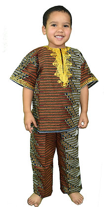 Classics Ankara Boys Suit