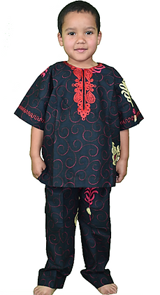 Twilight Ankara Boys Suit