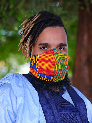 Kente Face Mask, Large