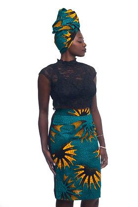 En'Vogue Stretch Back Pencil Skirt