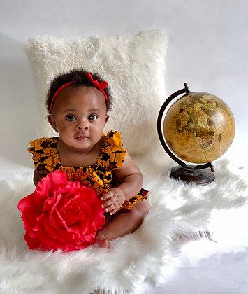Irawo Baby Dress and Panty Set
