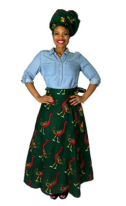 Goose Wrap Skirt