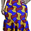 Thumbnail: Wavy Ankara Peplum Skirt