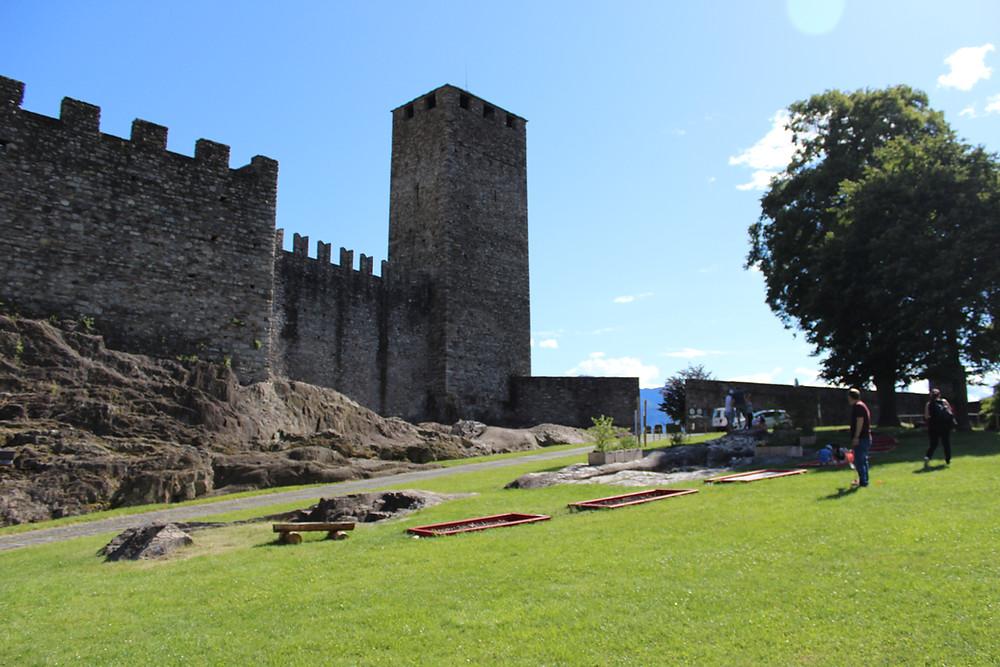 Castel Grande e il suo percorso sensoriale