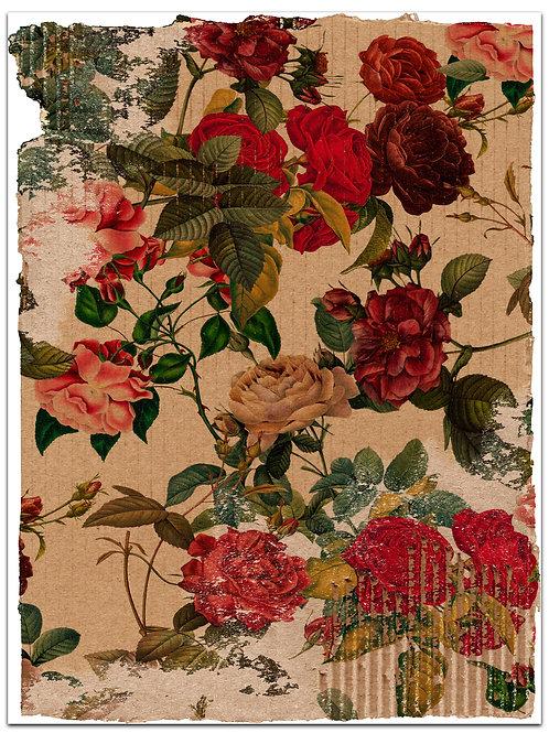Botanical Background Page Sheet- No 423016-Digital Download