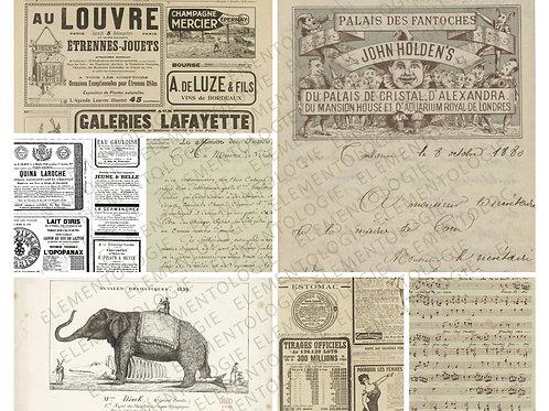 Printable Collage Sheet No 021