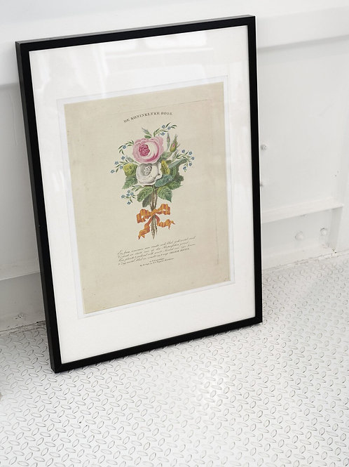 Antique French Print-No.032