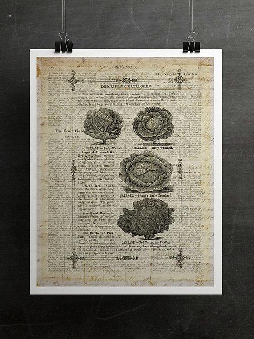 Gardening Print-Number 006