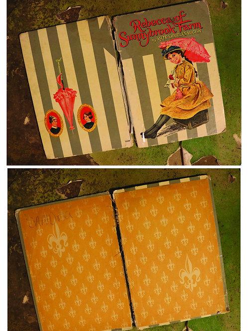 Vintage Book Covers No.1500-Rebecca of Sunnybrook Farm
