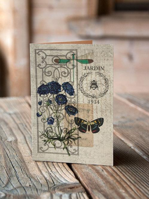 Botanical Print No. 07-Blank Note Card