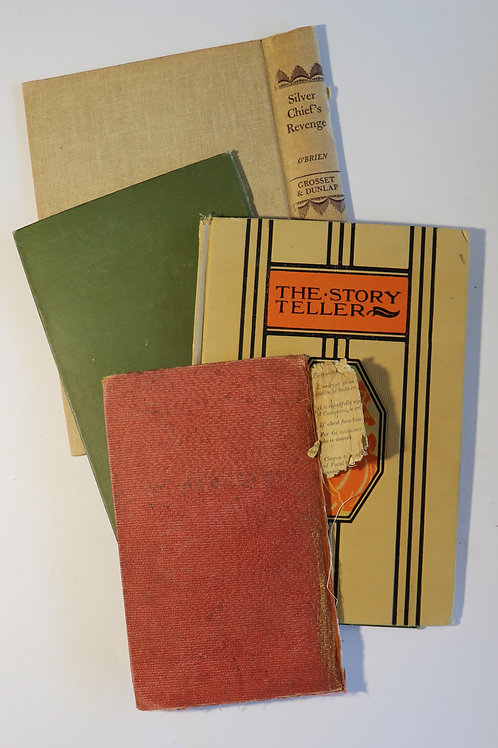 Set of 5 Vintage Book Covers No.3002