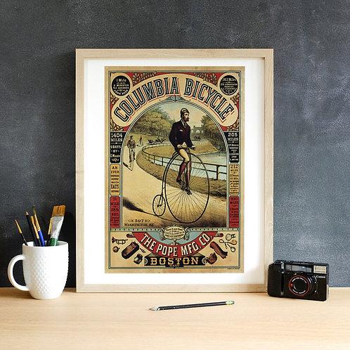 Vintage Poster Print-Number 005