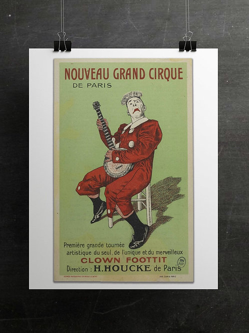 French Circus Print-Number 004